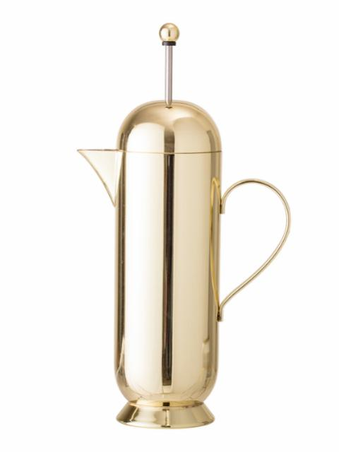 Yama Coffee Press, Gold, Stainless Steel